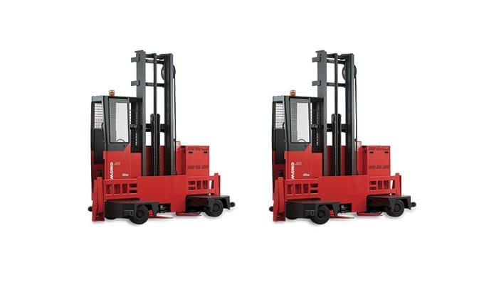 Raymond Sideloader Long Load Forklift