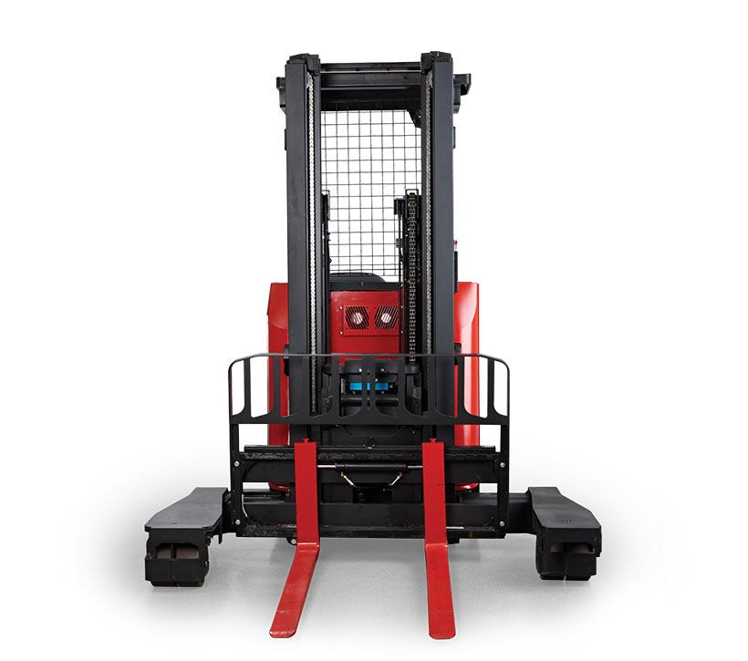 Raymond 7310 4-Directional Reach Truck Front View