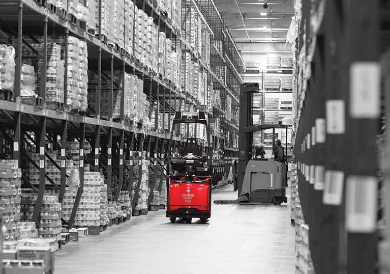 Raymond Courier Automated Lift Truck Flexible Automation