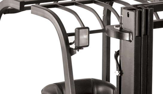 Raymond 4450 Sit Down Counterbalanced Forklift with Optional Worklights
