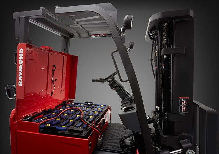 Sit Down Rider Forklift Battery