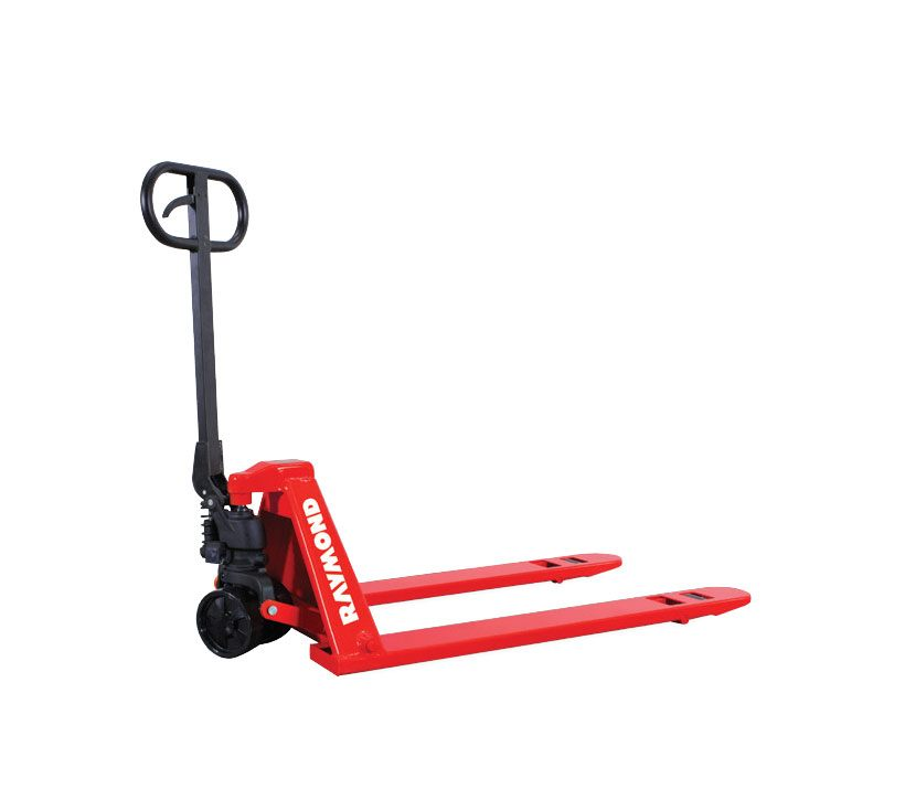 Raymond low profile hand pallet jack trucks LCU50 and LCM50