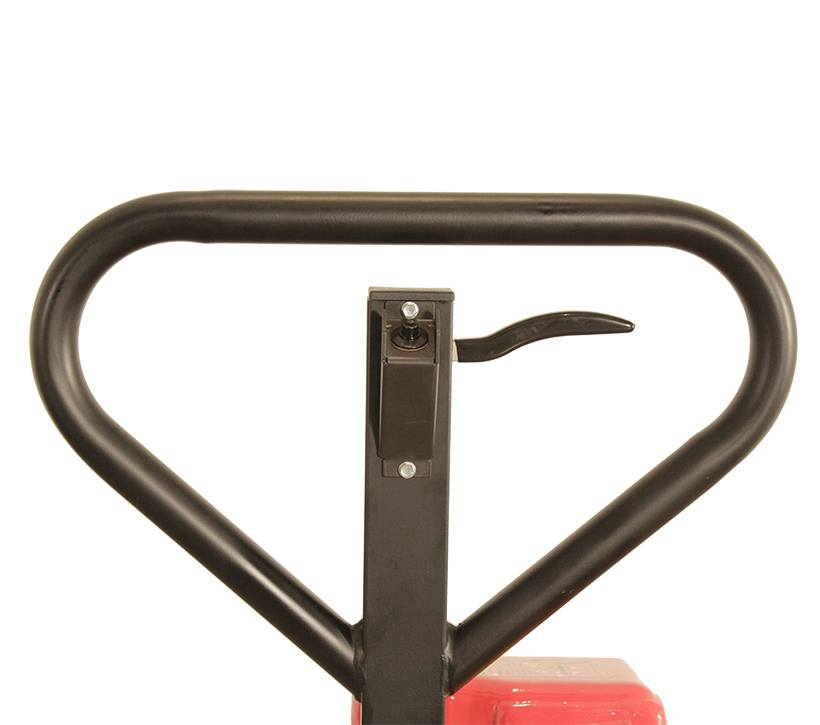 Raymond RG30 Ergonomic Skid Lifter Push Button Handle