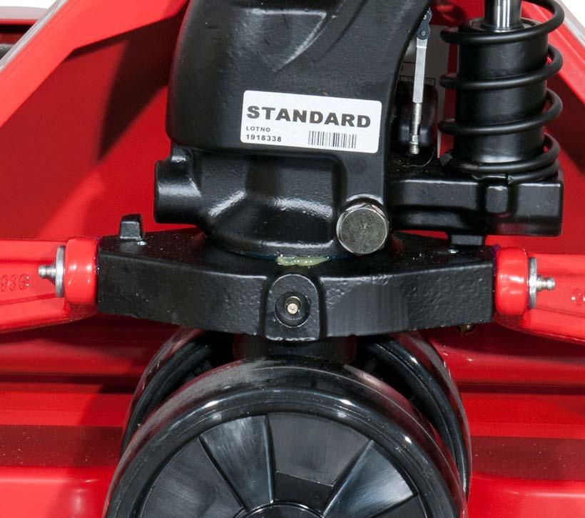 Raymond RJ50 durable high capacity hydraulic hand pallet jack