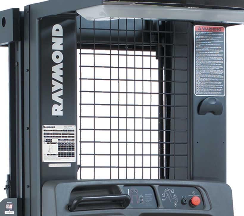 Raymond 5200 Orderpicker Clear View Mast