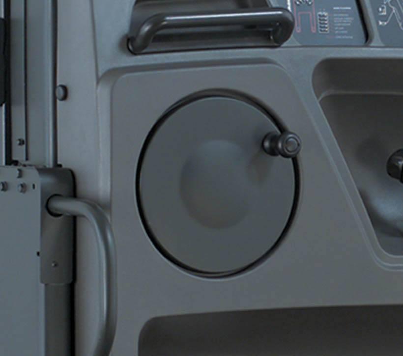 Raymond 5200 Orderpicker Auto Center Steer