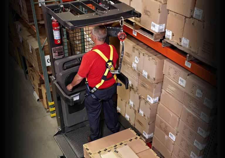 Raymond 5600 Order Picker Trucks Precise Platform Movement