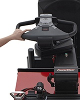 Raymond 8510 Electric Center Control Riding Pallet Truck