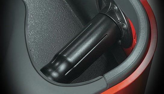 Raymond Reach-Fork truck universal stance optional secondary control handle