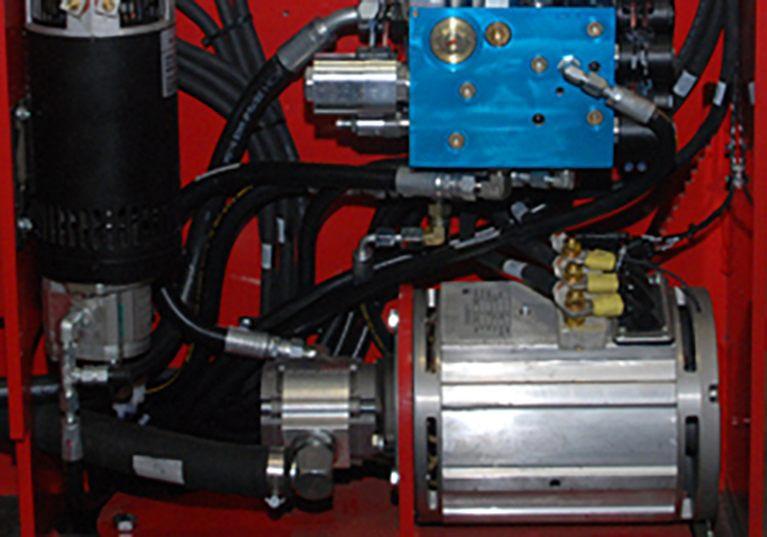 Raymond Sideloader Dual AC Drive Motors