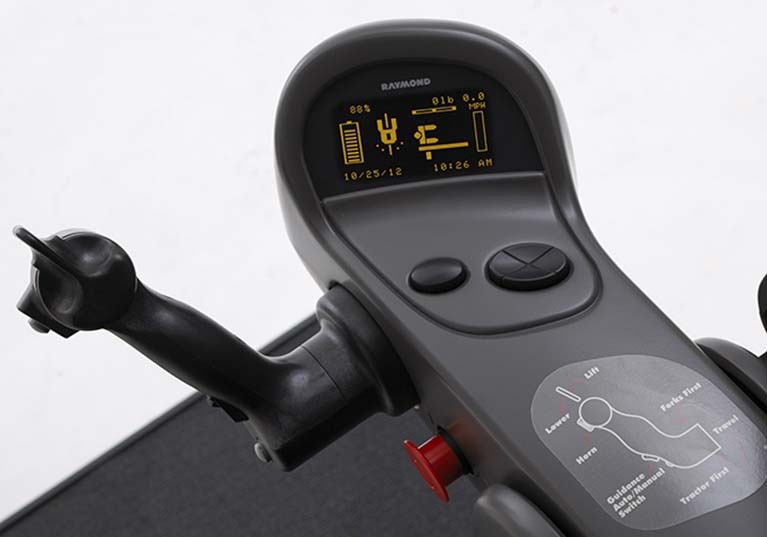 Raymond 9000 Series Swing Reach Truck Navigation Display