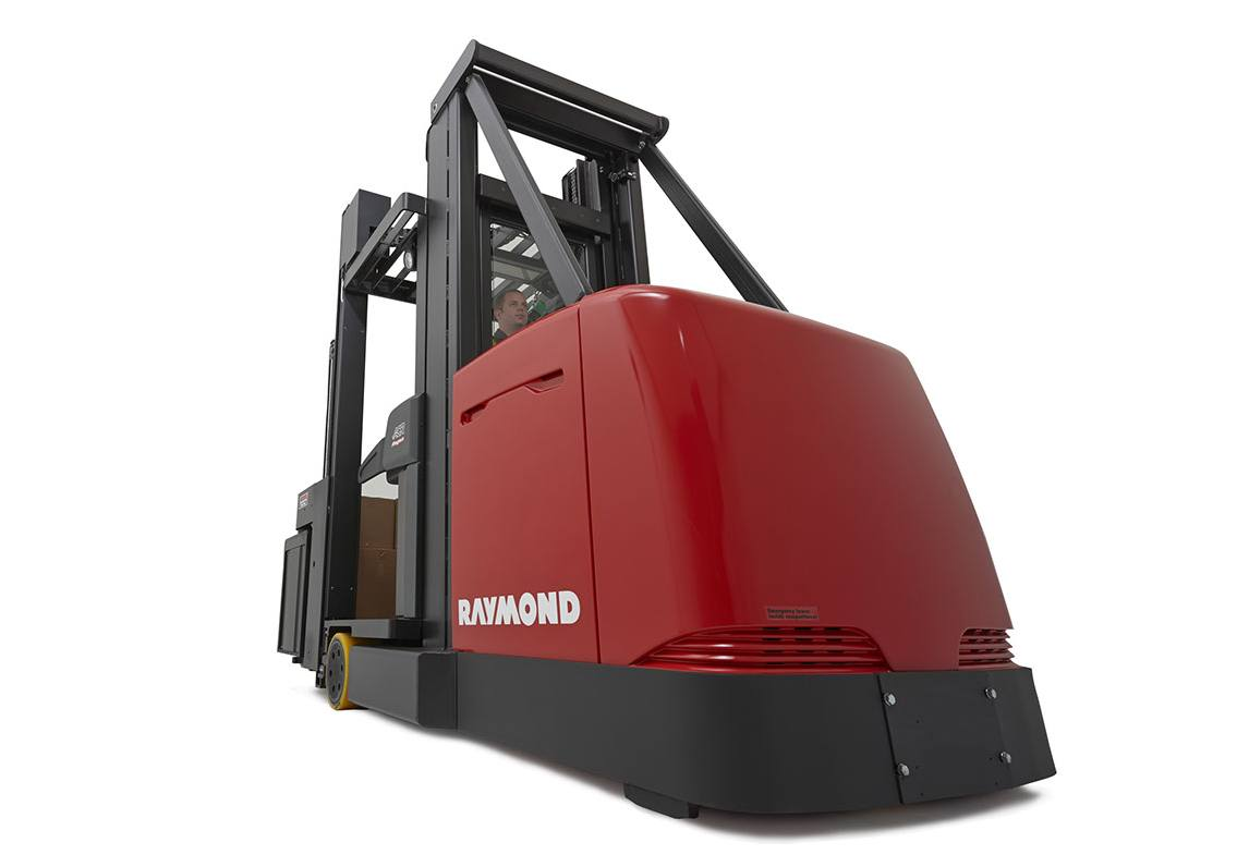 Raymond 9000 Series Swing Reach Truck Engineered for Stability