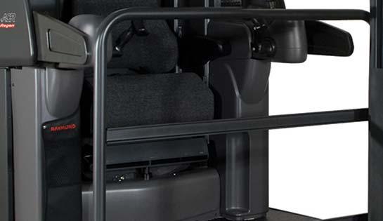 Raymond 9000 Series Swing Reach Truck Operator Compartment Barrier