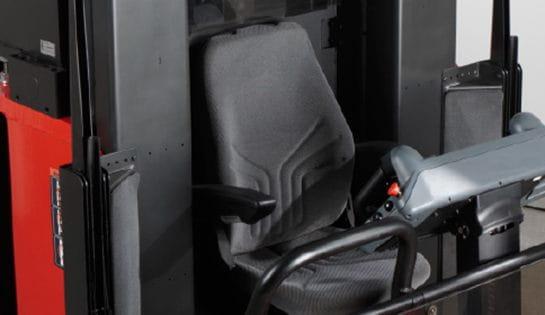 Raymond 9800 Swing Reach Truck Heated Seat Option