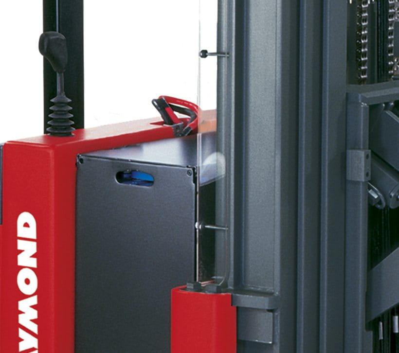 Raymond RRS Walkie Reach Stacker Truck Secondary Controls