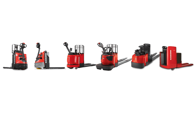 Raymond Electric Pallet Jacks