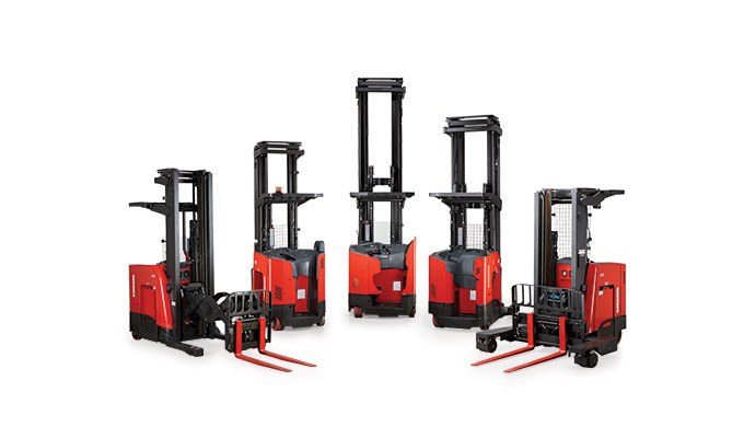 Raymond Reach-Fork Trucks