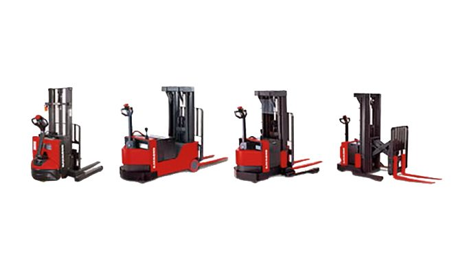 Raymond Electric Walkie Pallet Stackers